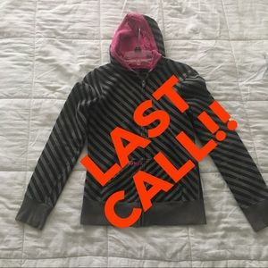 Hurley Tops - LAST CALL!! Hurley Zip Up Hooded Sweatshirt